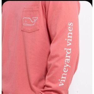 Vineyard Vines Pink Whale T-Shirt XS